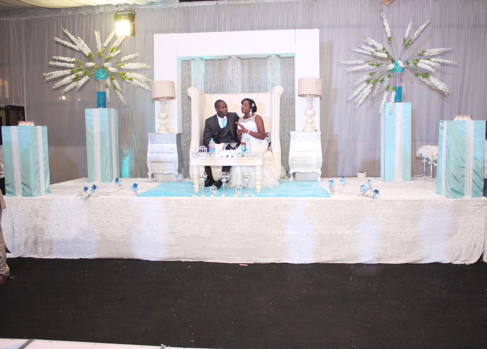 AQUARIAN TOUCH EVENTS NG: TIFFANY BLUE WEDDING
