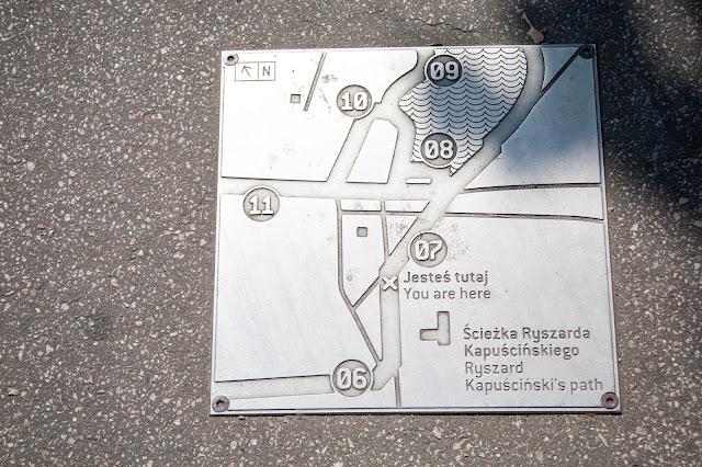 Ścieżka Kapuścińskiego na Polu Mokotowskim