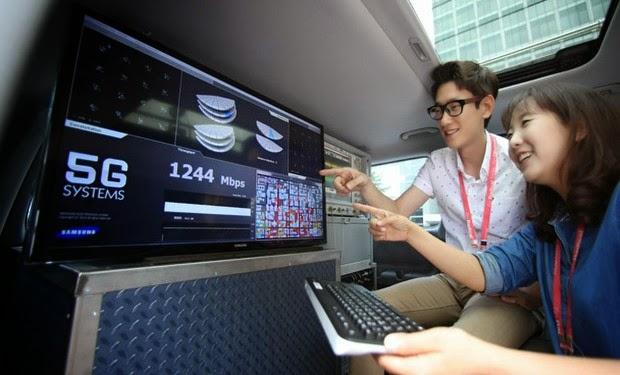 Samsung'tan 5G hız rekoru