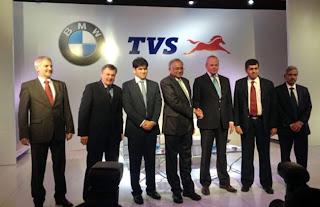 TVS and BMW Motorrad