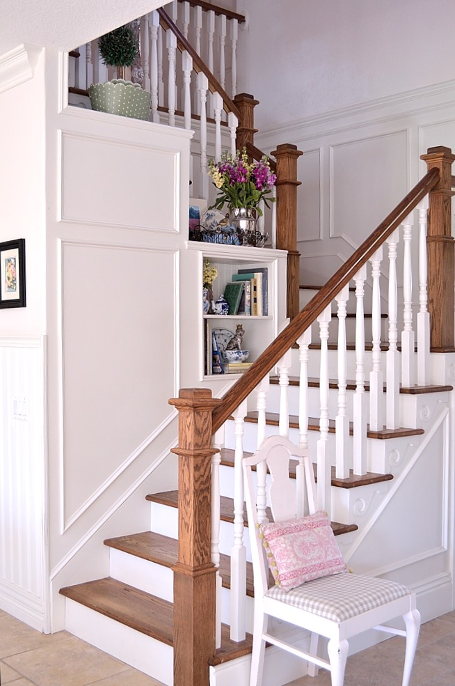Adding Character And Architectural Flourishes Was My Goal Back When We Were  Re Designing And Renovating The Stairs. I Love The Quirky Little Details  And ...