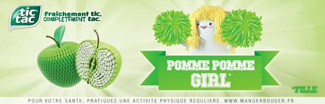 60 pack Pomme Pomme Girl Tic Tac