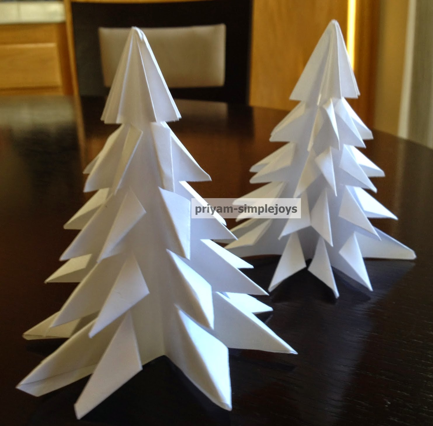How to make christmas decorations out of paper - I Have Been Out Of Blogging For Some Time Just Got Busy With Things But Was Itching To Get Back And Do Something So Started Today With A Simple Paper