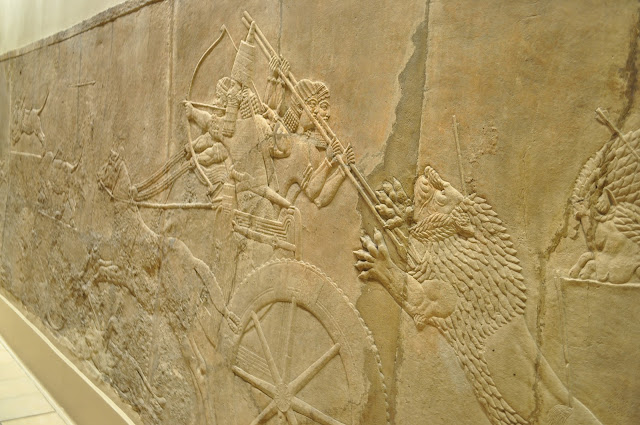 London+British+Museum+top+best+exhibits+Assyrian+Lion+Hunt+reliefs