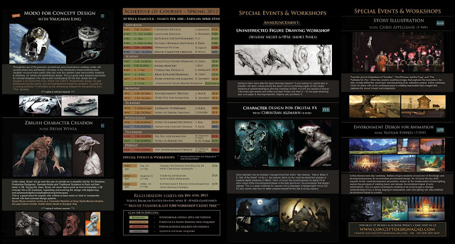 Hi Guys, here's the brochure for Spring term at Concept Design Academy ...
