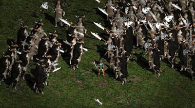 il livello delle mucche assassine in Diablo II