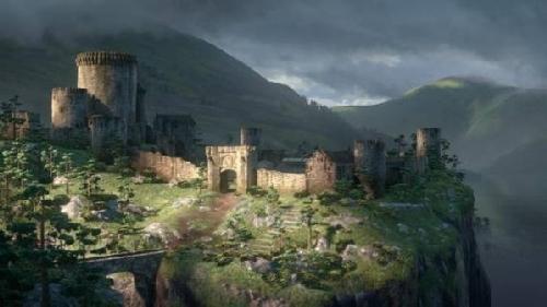 Merida castle Brave filmprincesses.blogspot.com