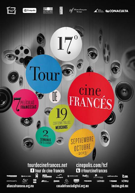 Comienza el 17° Tour de Cine Francés en la Ciudad de México