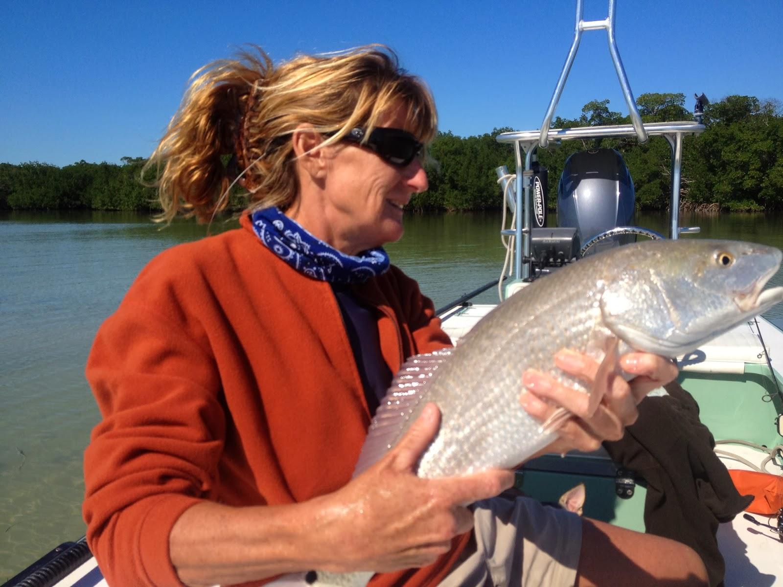Sight fish charters florida keys flats fishing report for Fly girl fishing charters