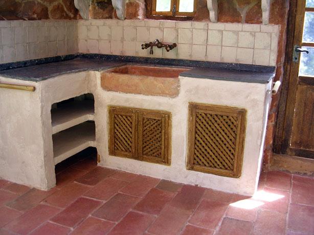 Miniaturas kriana la cocina r stica for Modelar muebles