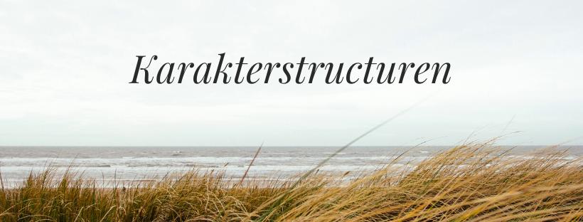 De vijf karakterstructuren