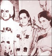 Sonia Gandhi Old Pictures