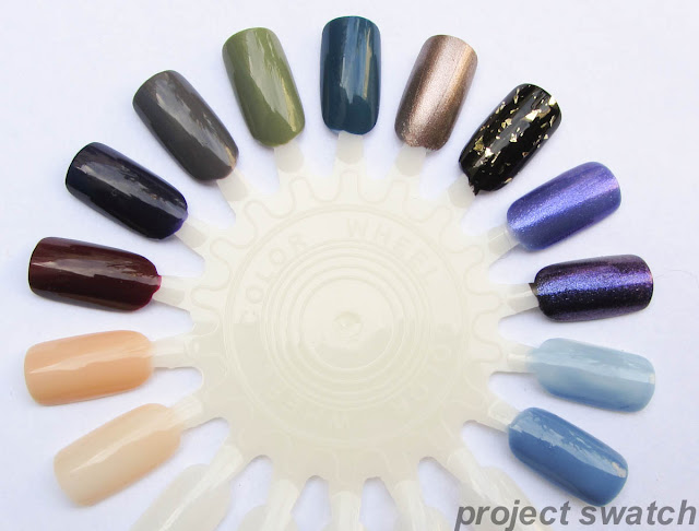 american apparel nail polish swatches