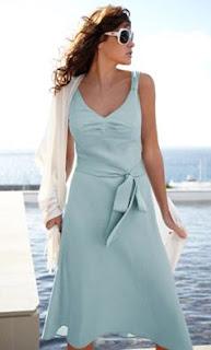 linen feminine tall dress