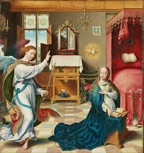 The Joyful Mysteries – The Annunciation, Part VIII, In the Bedroom