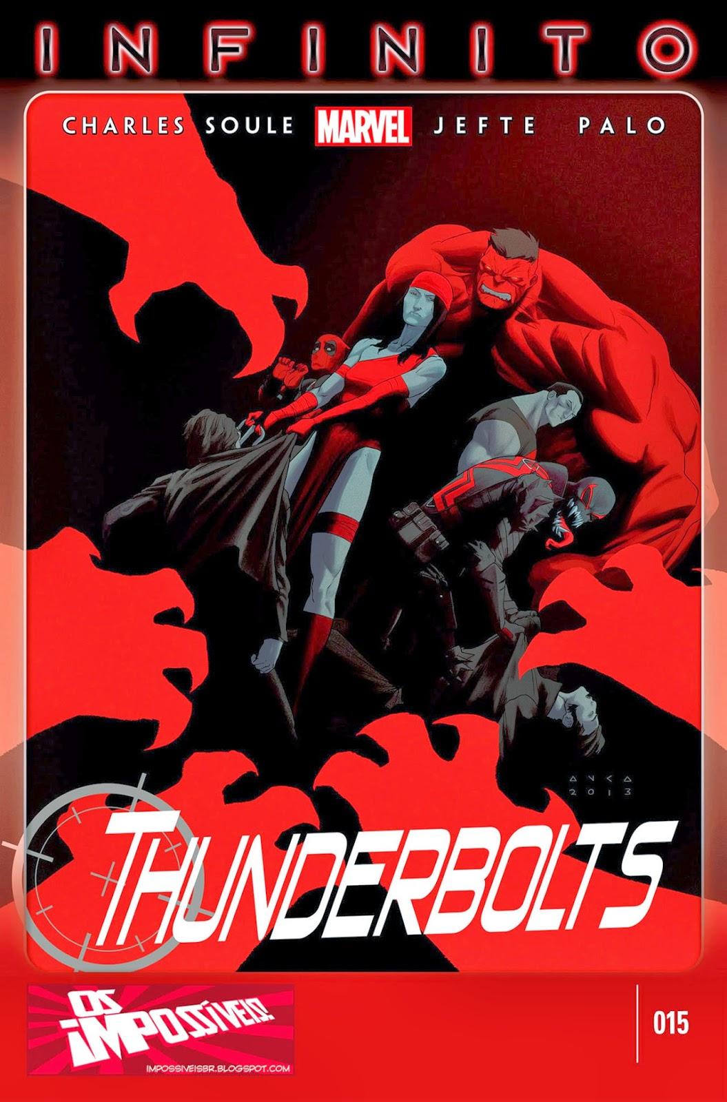 Nova Marvel! Thunderbolts #15