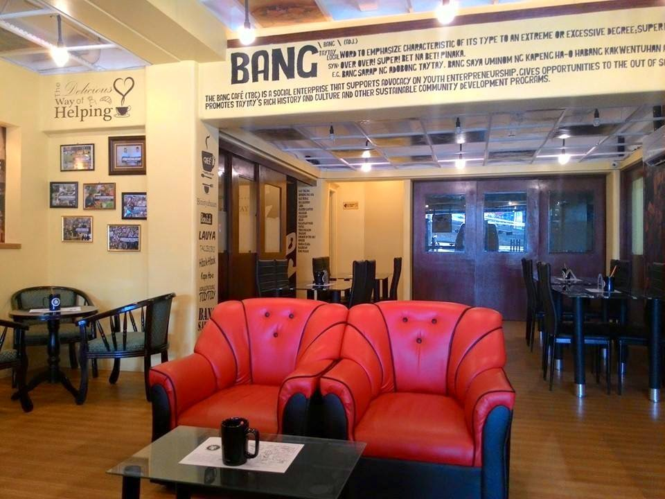 The bang cafe the newest coffeshop restaurant in for 8 salon taytay rizal