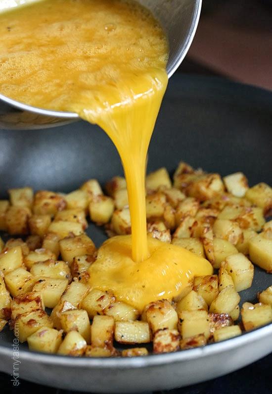 Broccolini And Potato Frittata Recipe — Dishmaps