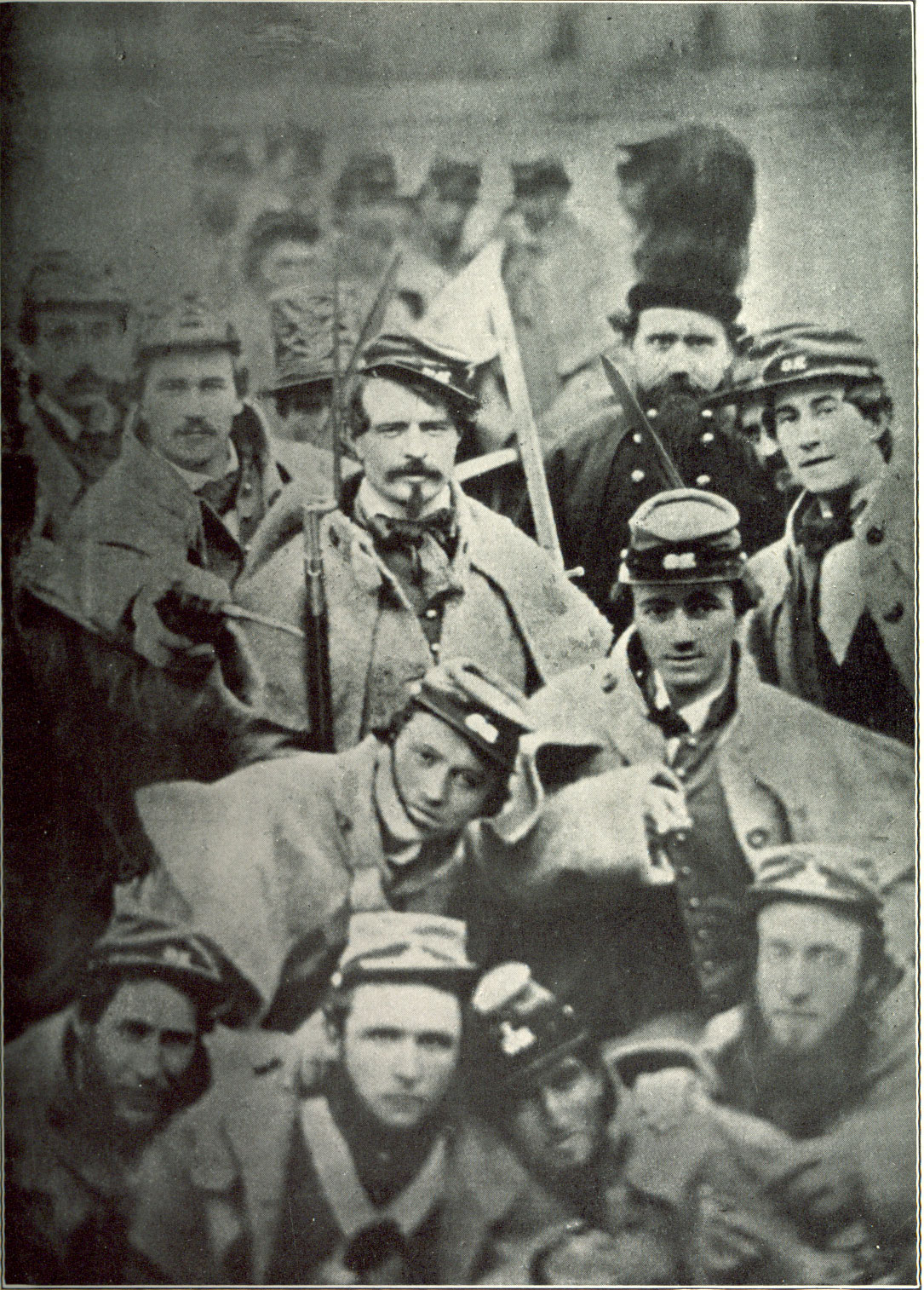 the confederate army Helping to liberate the confederate states of america.