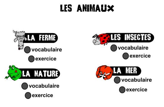 http://lexiquefle.free.fr/animaux.swf