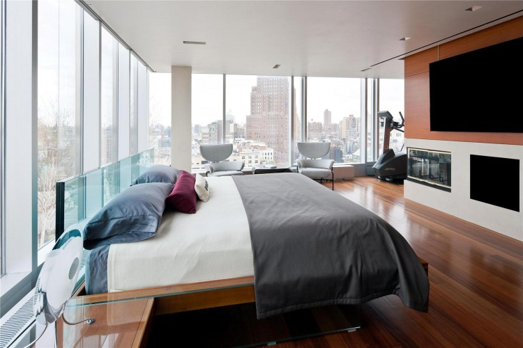 Loveisspeed glass skyloft penthouse apartment in ny for Penthouse apartments in nyc