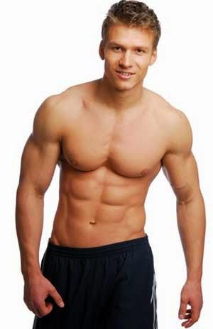 trend remaja pria membentuk badan berotot sixpack di gym til