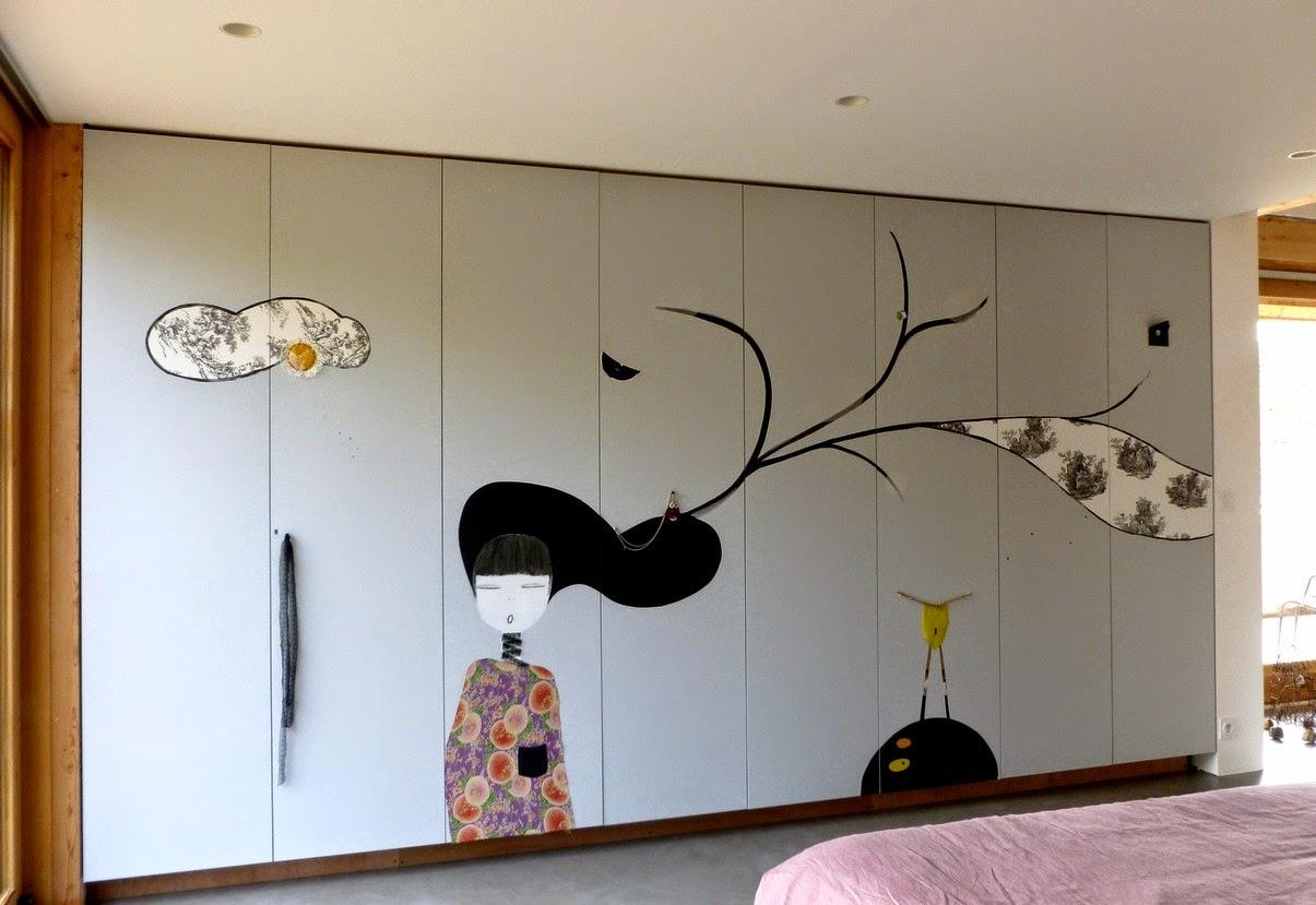 Alexandra beauvais d coration le wall art sur mesure en for Alexandra decoration