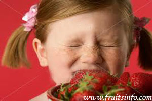 strawberry fruit allergy