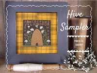 Hive Sampler Punch Needle Pattern $6.00