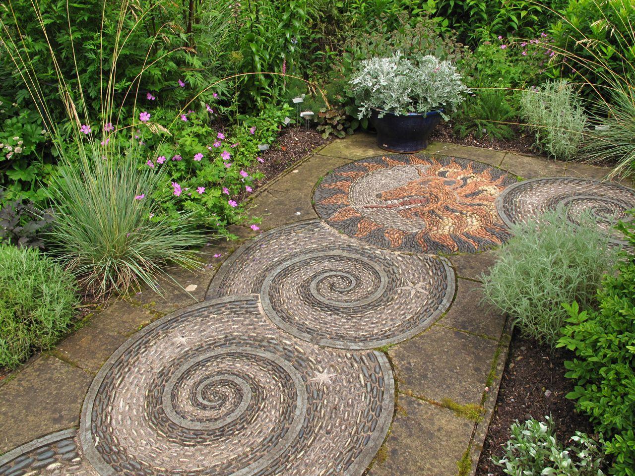 Rock rose gresgarth hall - Camino de piedras para jardin ...