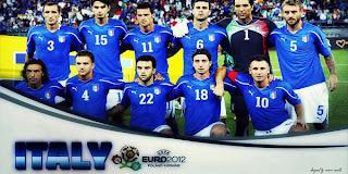 Italia Umumkan Nomor Punggung Pemainnya