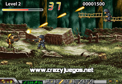 Jugar Metal Slug Run - www.crazyjuegos.net