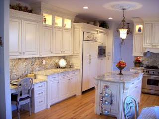 Glazed Kitchen Cabinets Picture