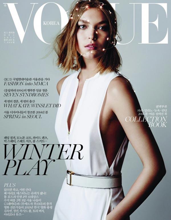 Vogue korea december 2013 cover