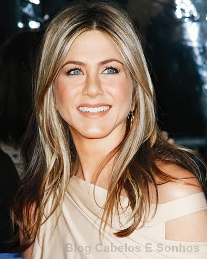Jennifer Aniston de mechas invertidas