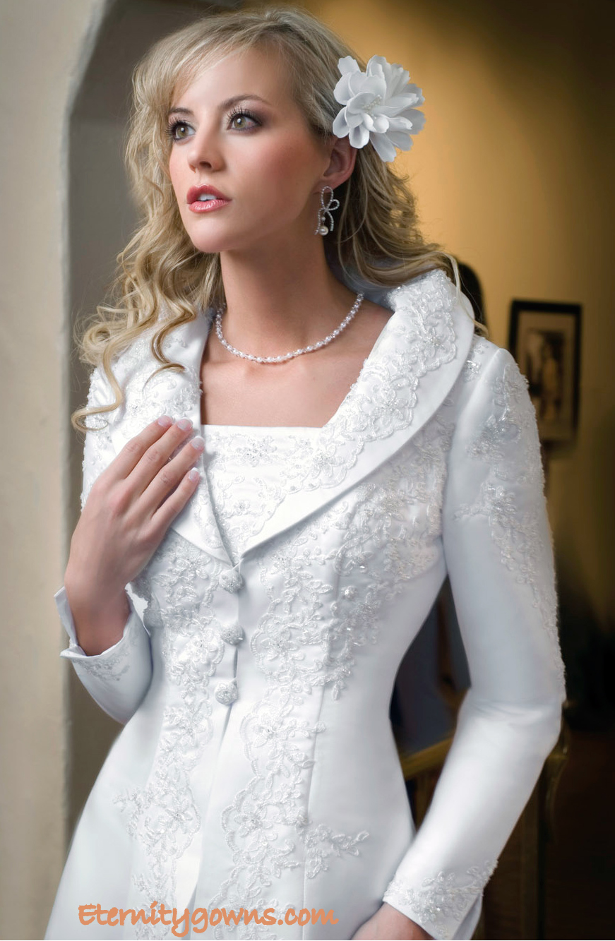 Lds Wedding Dresses