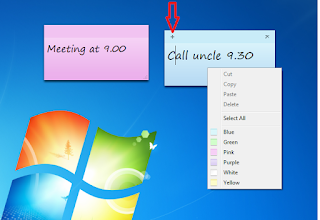 How to use Sticky Notes Tips & Shortcuts Keys,windows 7 Sticky Notes,Sticky Notes shortcut keys,how to use Sticky Notes,Sticky Notes incrrease font size,Sticky Notes color change,Sticky Notes reminder,shortcut key of notes,how to write notes,reminder in windows pc,notes,write,display,alert,Alignment,blod fonts,change font size,change font style,how to stick notes on desktop