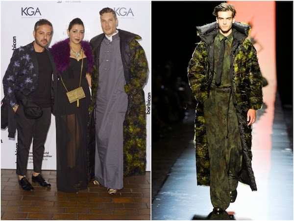 Cameron Silver in Jean Paul Gaultier Couture - The Fashion World Of Jean Paul Gaultier