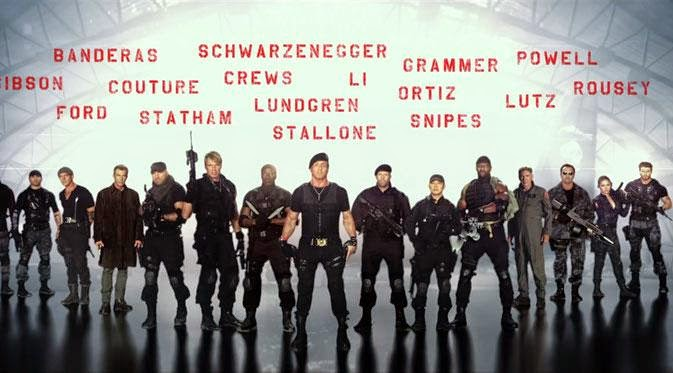 Pemeran The Expendables 3