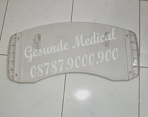 spesifikasi overbed table plate spek