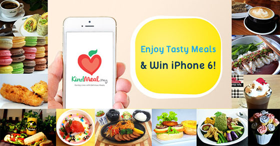 KindMeal.my and Win iPhone 6