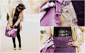 OOTD: The Colour Purple