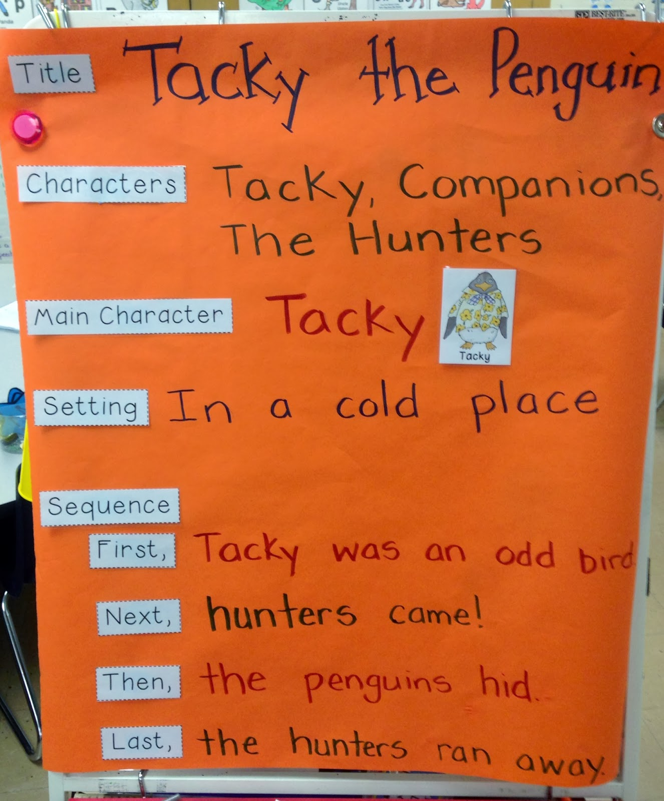 Tacky The Penguin Book Cover : A spoonful of learning penguins week