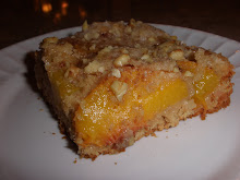 German Fresh Peach Kuchen