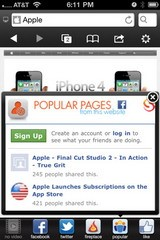 Skyfire 3.0 iPhone Web Browser released