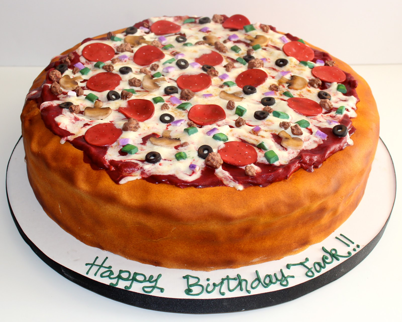 Sweet Stirrings PizzaIts whats for birthday cake