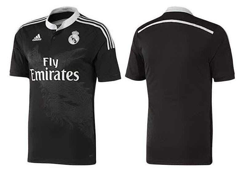 Jersey Real madrid 3rd terbaru