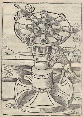 Sixteenth Century Rotating Gun Platform