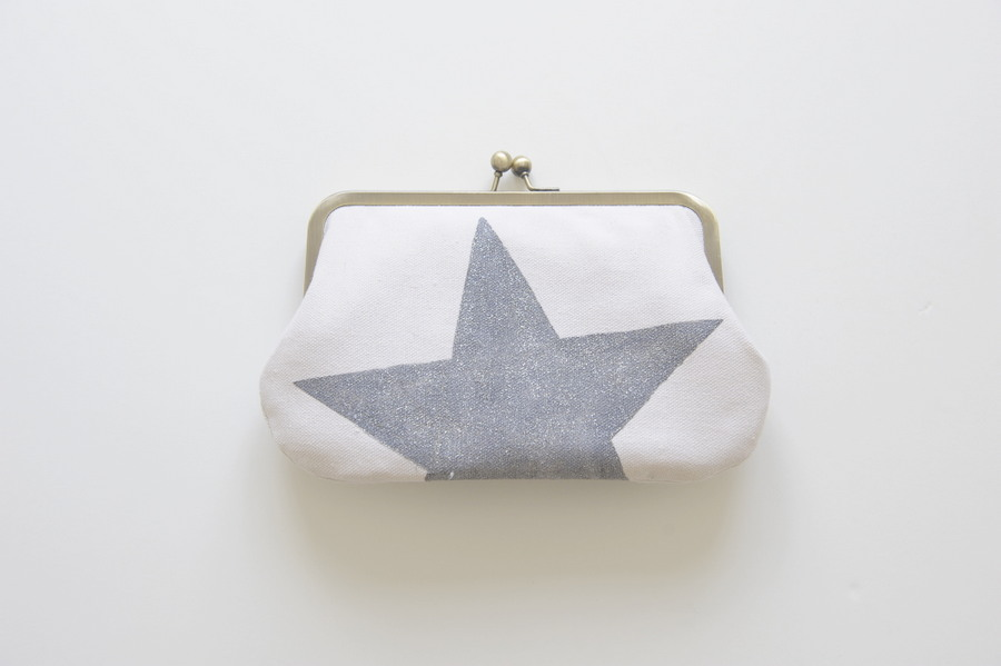 kisslock wallet star