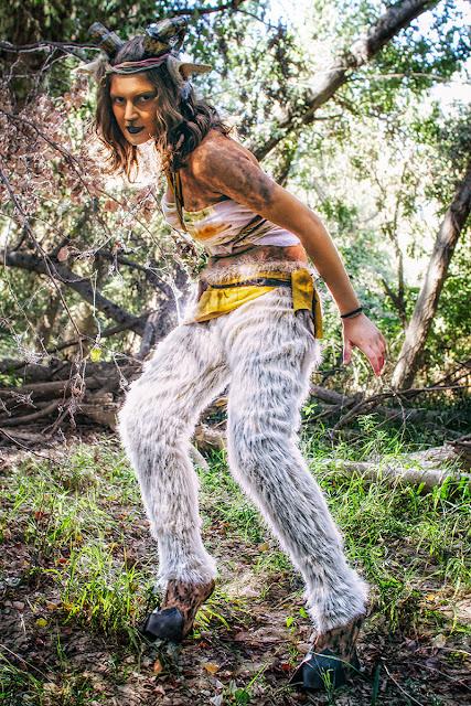 Sesión Sátiro | con Lena KuroHana | cosplay | Color I